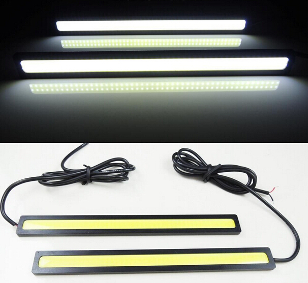 2pcs/lots Ultra Bright 18W 14cm/ Daytime Running light 100% Waterproof COB Day time Lights LED Car DRL Driving lamp Car styling(China (Mainland))