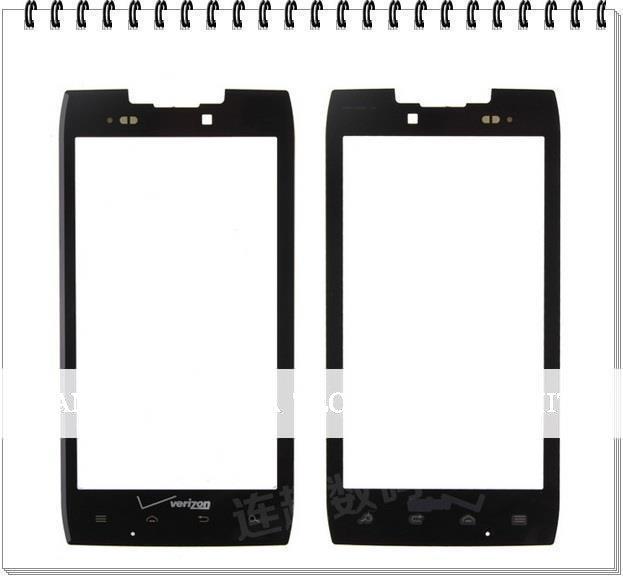Black Faceplate Outer Glass Lens for Motorola Droid Razr XT910 XT912 Digitizer Screen Glass Replacement; DHL Free 50pcs/lot(China (Mainland))