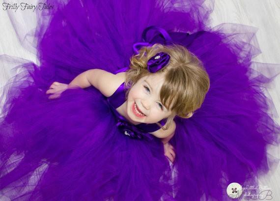 Girl dress ball gown cute toddler pageant dress junior tutu dresses