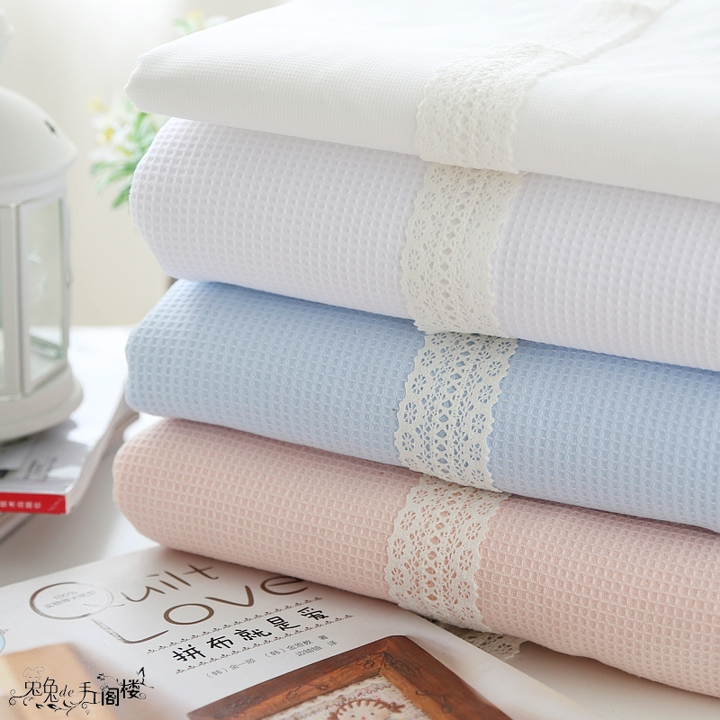 150x50cm fabric Honeycomb cotton Joker Pure Cotton Style Hive Cotton Cover Blanket Cloth Lining cloth diy bedding apron fabric(China (Mainland))