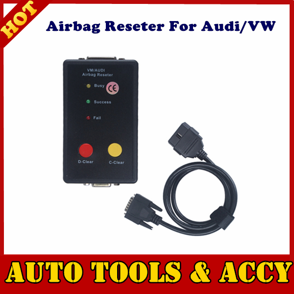 Highly recommend for Audi-VW Airbag Reseter works without additional computer and trough car OBD II connector(China (Mainland))