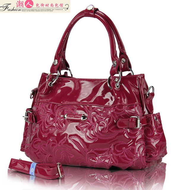 2012 women's handbag shoulder color block candy color fashion all-match women's messenger bag