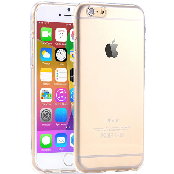 6/6s Super Flexible Clear TPU Case For Iphone 6 6s Slim Crystal Back Protect Skin Rubber Phone Cover Fundas Silicone Gel Case(China (Mainland))