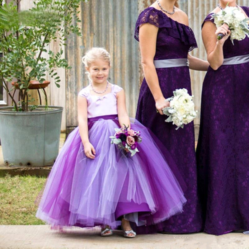 Flower Girl Dresses Tutu Cheap - High Cut Wedding Dresses