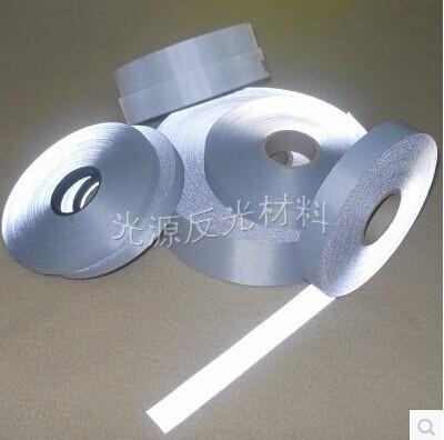 20 M/lot reflective cloth reflective material highlight reflective fabric bright 5cm reflective tape ,free shipping(China (Mainland))