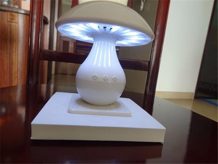 Wireless Mini Portable Touch Sensor Night Light bluetooth speaker Surround Mushroom Table Lamp LED Speakers support TF Card(China (Mainland))
