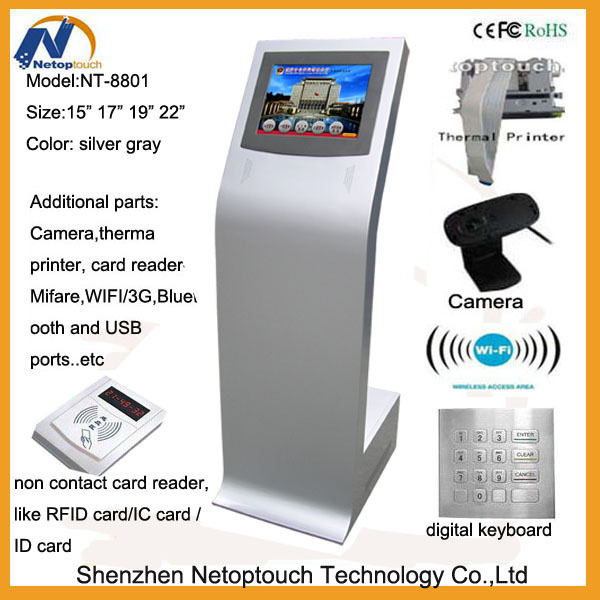 Touch screen All In One Kiosk