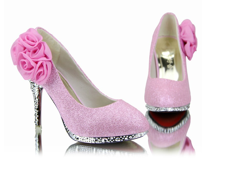 hot 2016 diamond wedding the bride wedding shoes high heel