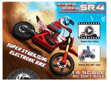 Free Shipping Brushless  Skyrc Super Rider SR4 1/4 Scale RC Bike Motorcycle  Brand New Baby toys(China (Mainland))