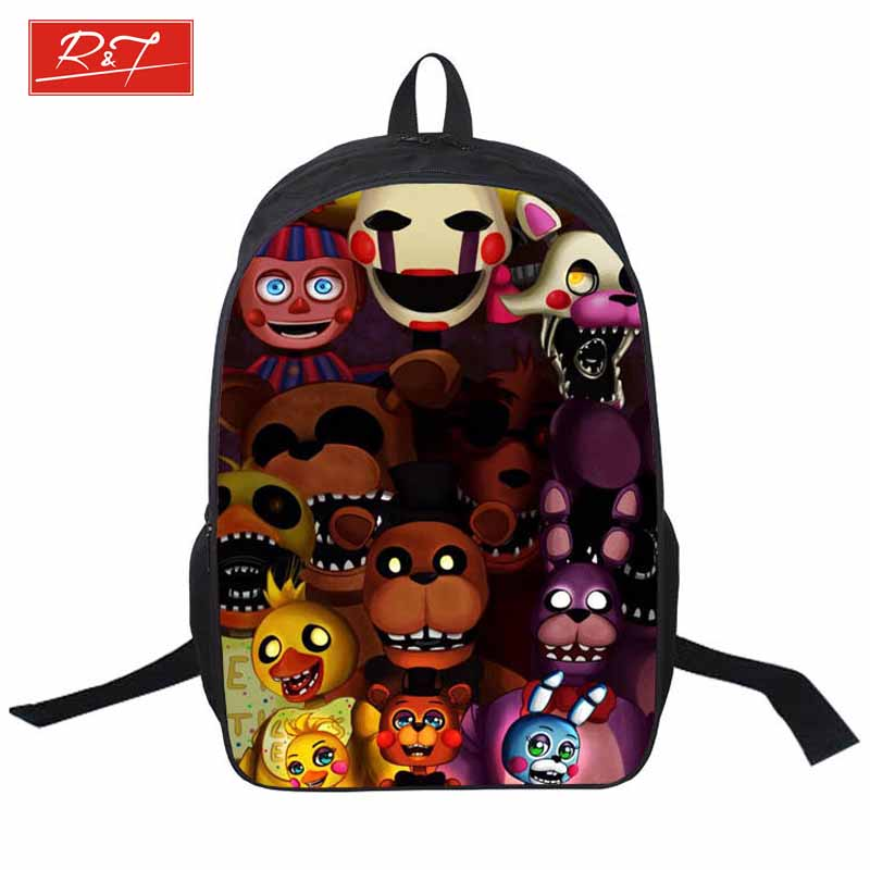 2016 five nights freddys kids schoolbags boys girls backpack for teenager bags juvenile student schoolbag free shipping<br><br>Aliexpress