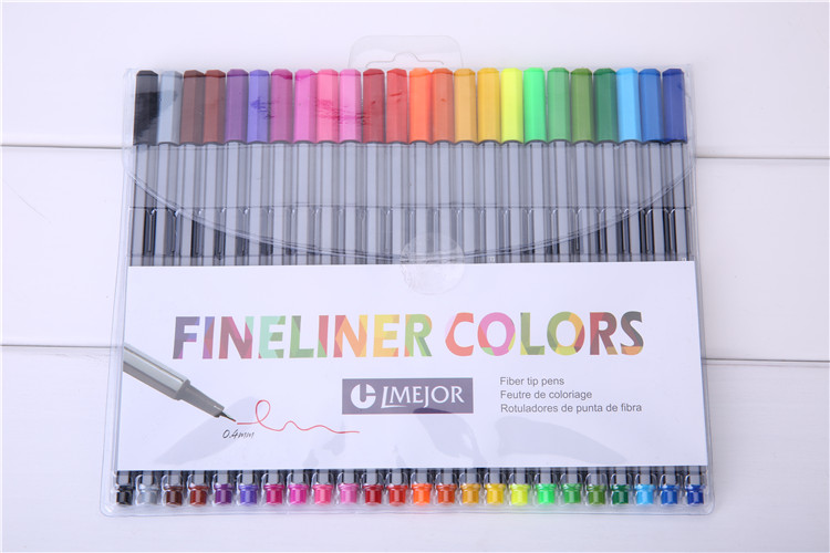 Fineliner Exclusive Coloring Beautiful Markers