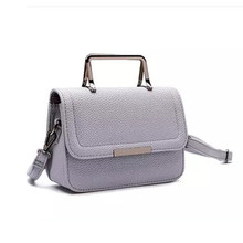 Elegant Mini Shoulder Bags 2016 New Japanese and Korean Fashion Simple All-match Locomotive Temperament Small Handbags#ZR21