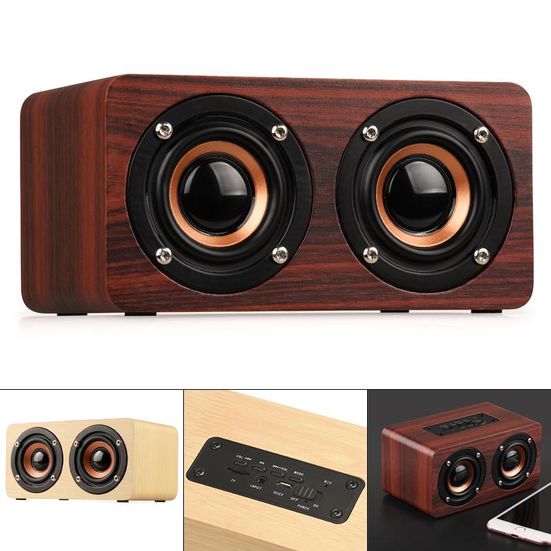 W5 портативный 4 2 Bluetooth динамик s Музыка SoundBox Магнитный сабвуфер деревянный 26513-first-1-l0.jpg