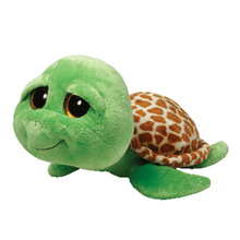 Zippy turtle 15cm green tortoise ty Plush Toy Stuffed Animal Doll Kids Toy Big Eye Doll Graduation Birthday Gift Hot Sale(China (Mainland))
