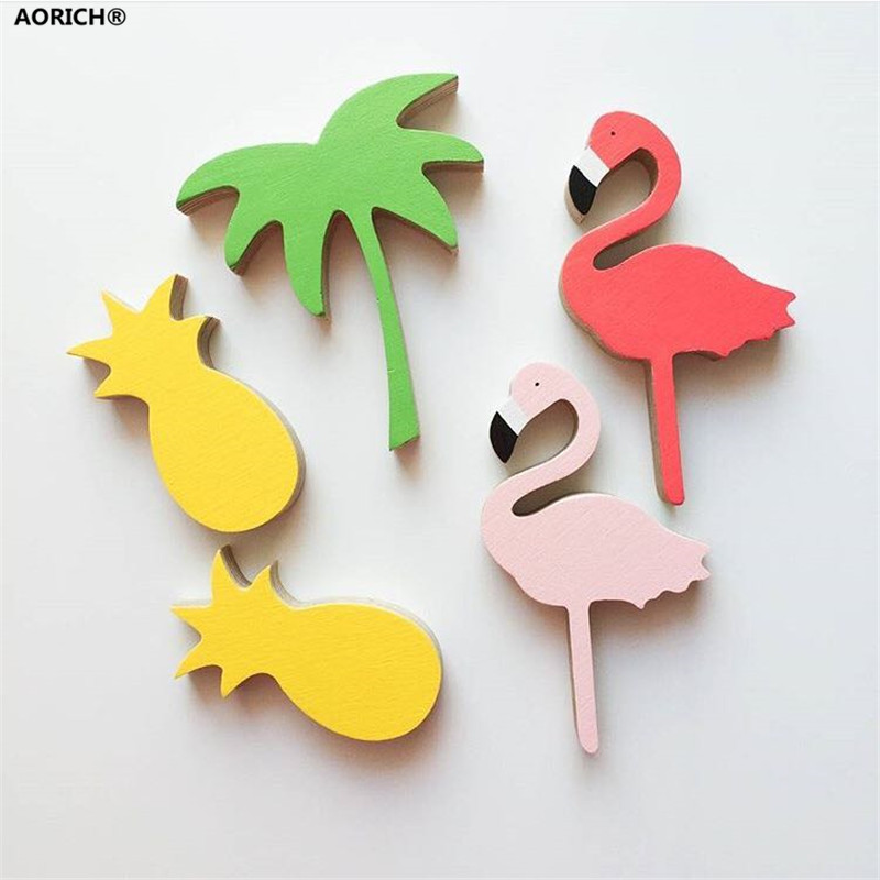 2pcs/lot Cute Lovely Flamingos Single Hook Hat Coat Clothes Bags Towel Robe Hooks Wall Door Decoration Hanger Hooks INS Hot(China (Mainland))