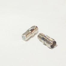 Копировально-программное управление женское джек переключатель F женское джек RF коаксиальный адаптер конвертер прямой Nickelplated