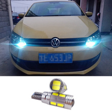 T10 W5W Error Free SAMSUNG LED Canbus For VW Golf 5 6 Polo Jetta Bora Passat 3C CC B7 Tiguan Touareg Scirocco Eos BMW AUDI Benz(China (Mainland))