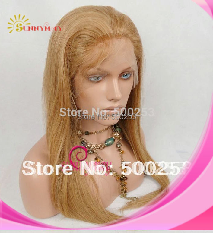 Sunnymay #27 Straight  Indian Remy Human Hair lace Front Wigs