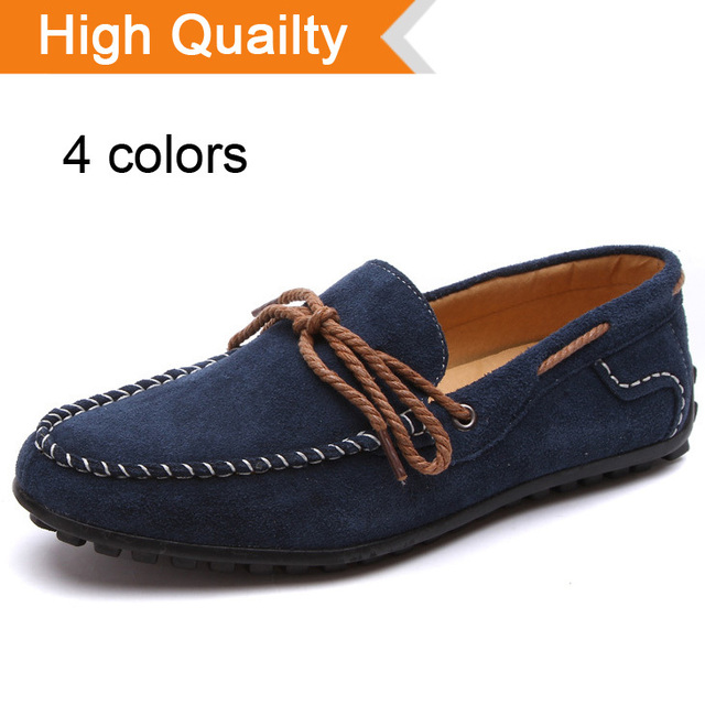 Натуральная кожа мужчины в квартиры удобные мягкий мужские для вождения обувь марка ...