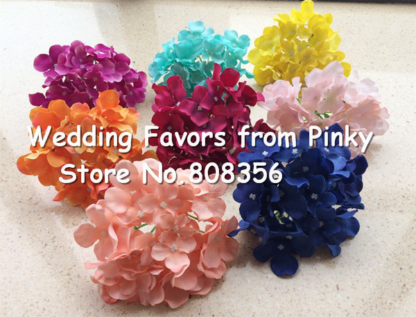 Silk Hydrangea Flower Heads Dia15cm/5.9