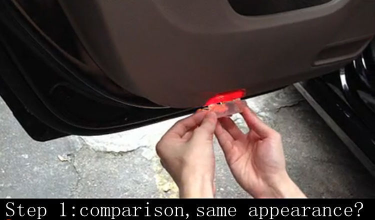 Special LED car door projector logo laser shadow welcome Warning light1