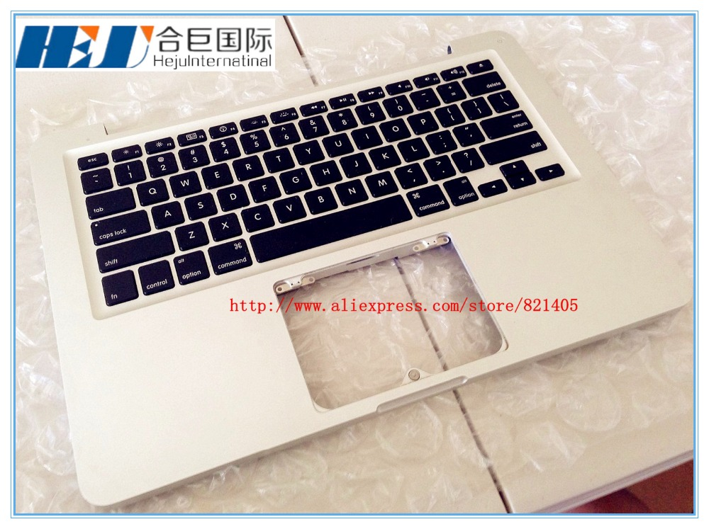 NEW Laptop Keyboard with Topcase the US version for MACBOOK Pro 13 A1278 MD101,MD102 EMC2554 <br><br>Aliexpress