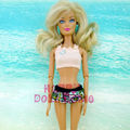 One Piece Swimsuit Summer time Seashore Bikini Bathing Put on Swimming Pool Garments Slippers For Barbie Doll Style Toy Costume Woman Reward