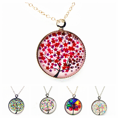 x363 art picture pendant necklace glass cabochon necklace chock necklace women necklace jewelry fashion(China (Mainland))
