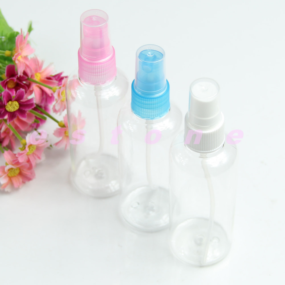 "2016""Hot Sale! 10PCS Atomizers Water Bottle Empty Pump Plastic Perfume Sprayer Makeup Tool 100ML(China (Mainland))"