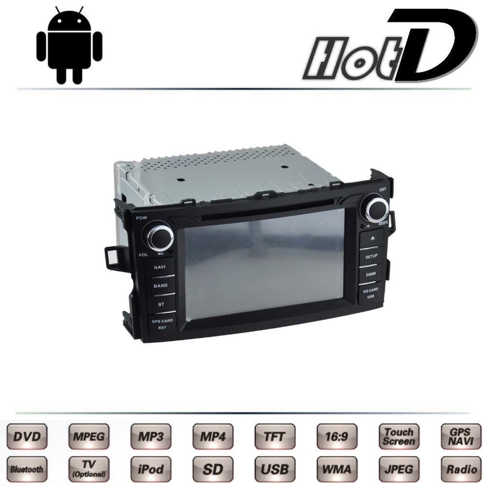 For TOTOTA Auris E150 Corolla iM 2006~2012 Car Multimedia TV DVD GPS Radio Original Style Navigation Android Advanced Navi(China (Mainland))