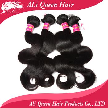 6A 4 Bundles Brazilian Body Wave With Free Shipping, 100% Unprocessed Brazilian Virgin Hair Body Wave
