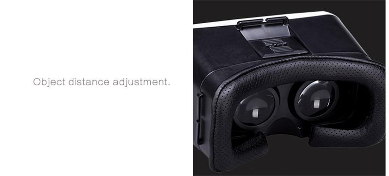 ถูก ร้อนgoogleกระดาษแข็งvr box ii 2.0รุ่นvrความจริงเสมือนแว่นตา3dสำหรับ4.7-6.0นิ้วมาร์ทโฟน