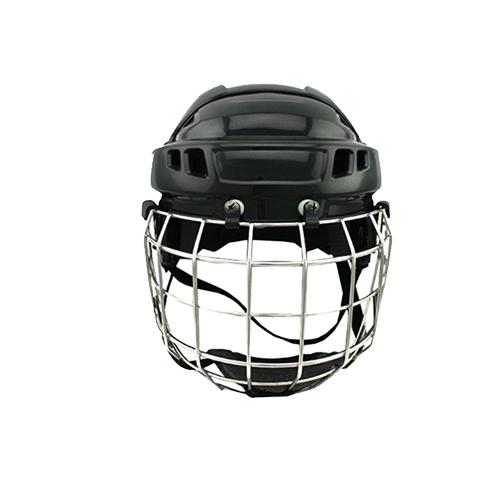 2016 newest ice hockey helmet with steel mask sports equipment for head meet CE standard<br><br>Aliexpress