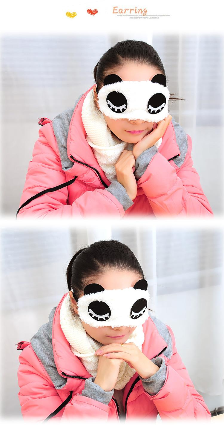 New Travel Rest EyeShade Sleeping Eye Mask Cover eyepatch blindfolds for health care to shield the light Goggles 1pcs/lot ym04