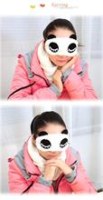 New Travel Rest EyeShade Sleeping Eye Mask Cover eyepatch blindfolds for health care to shield the light Goggles 1pcs/lot ym04(China (Mainland))