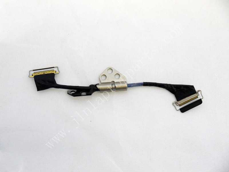 New LCD LED LVDS Cable + Hinge for Apple Macbook Pro A1425 retina md212 md213(China (Mainland))