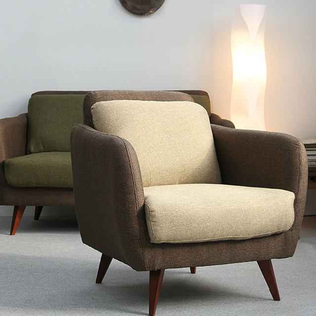Ikea simple japanese style fabric sofa small apartment - Ikea fundas de sofas ...