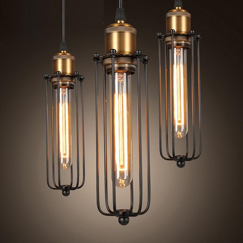 Loft Rh Industrial Warehouse Pendant Lights American: Retro RH Industrial Pendant Lamps For Warehouse/Bar A