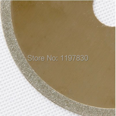 Promotion sale of Electroplated diamond thin kerf cutting disc for cutting bowlder Agate 100mm diameter hole 20mm thick 0.6mm<br><br>Aliexpress