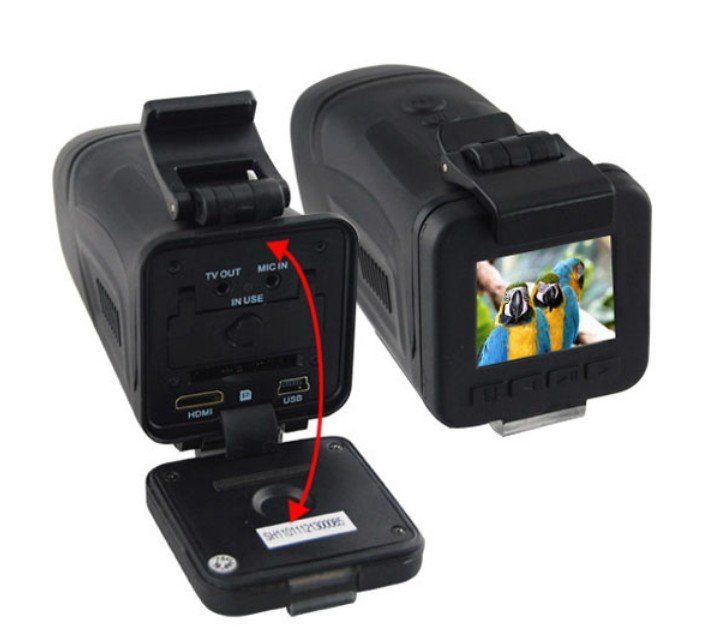 "Newest arrival!Free Shipping HT200A 1.5"" TFT LCD Car DVR Camera! 5.0MP CMOS + 1920*1080P 30FPS +4X digital zoom waterproof!"