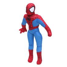 Polegada 30 12 centímetros Marvel Toys the Amazing Spider-man Superhero Spiderman Brinquedo de Pelúcia Macia Stuffed Animal Plush Toy presentes de natal Vermelho(China)