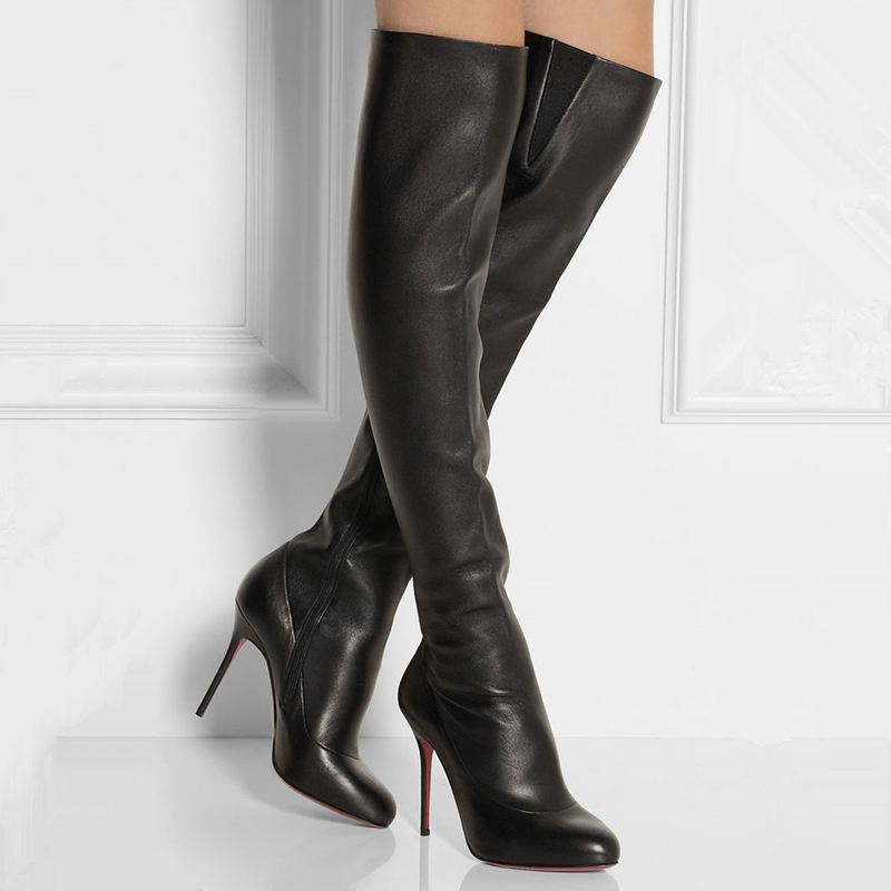 soft leather thigh high boots yu boots