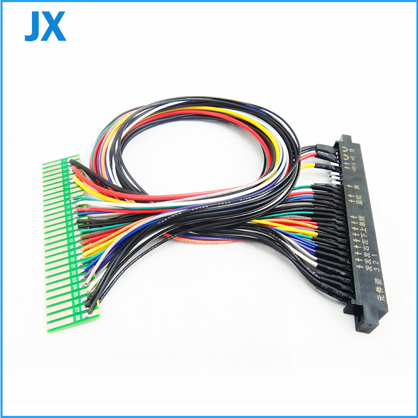100cm/50cm Jamma harness extender/arcade accessories/extended wire/cable/parts for arcade game machine /Coin operator machine(China (Mainland))