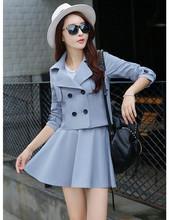 Buy 2016 new korean autumn women suits skirt set 2 piece set women crop top skirt set saia conjunto feminino two piece set for $22.49 in AliExpress store