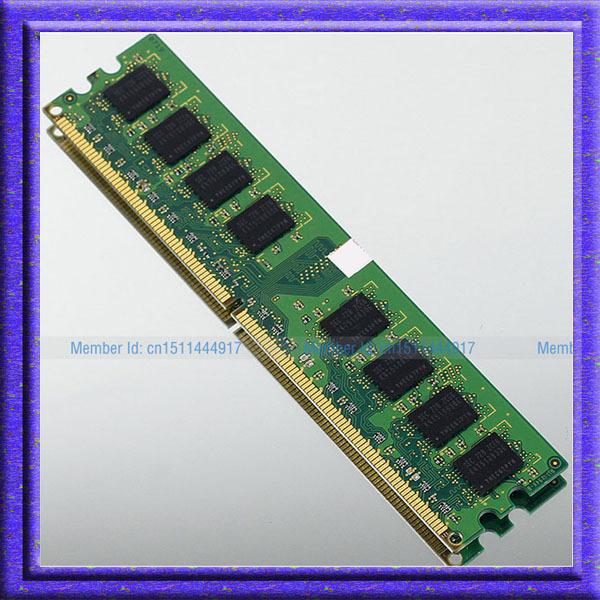 Fully Test! Samsung 2GB DDR2-800 PC2-6400 800MHZ 240pin RAM low density DIMM Desktop Memory 2gb ddr2 800 NON-ECC Free Shipping(China (Mainland))