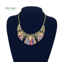 Buy 2017 women fashion bohemian necklace&pendants modern hippie vintage big name choker necklace tribal ethnic boho mujer accessory for $4.07 in AliExpress store
