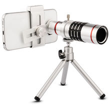 New Room 18x Optical Telescope Telephoto Lens with Tripod for Universal Phone for iPhone 5 6 6S Plus for Samsung S6 S5 Note 5 4(China (Mainland))
