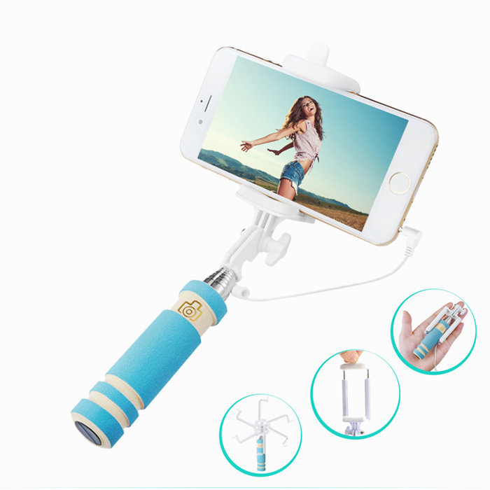 leather mobile phone bags cases portable mini selfie stick for iphone 4 5 6 6 plus camera. Black Bedroom Furniture Sets. Home Design Ideas