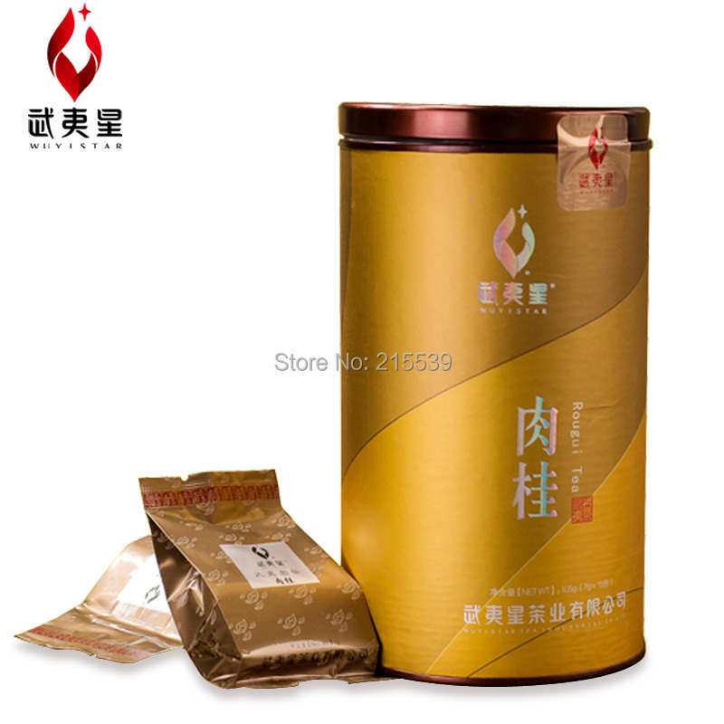 [GRANDNESS] Wu Yi Rou gui Rougui Cinnamon Da hong pao Wuyi Rock Oolong tea Organic Original Wuyi mountain tea YAN CHA 105g(China (Mainland))