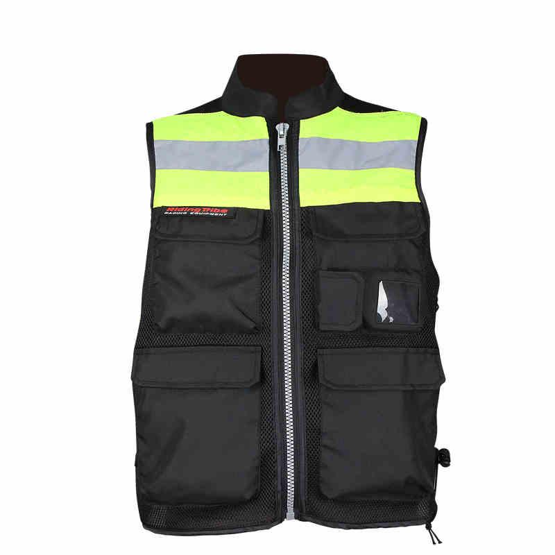 Мотоцикл отражает жилет безопасности одежды гоночных защитный жилет Visbility Moto безопасности мотоцикл предупреждение одежда